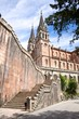 stairs to Covadonga basilica