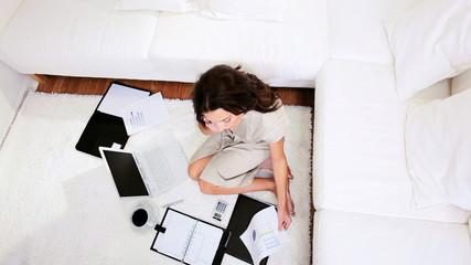 Self Employed Female Home Working
