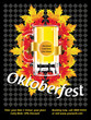 Oktoberfest poster - editable - text can be replaced