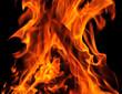 Kamin Flamme