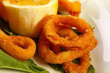 Fried calamars