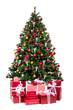prachtvoller weihnachtsbaum