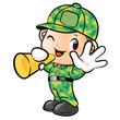 Loudspeakers to Inform Soldier