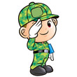 Salute to the Soldier Character