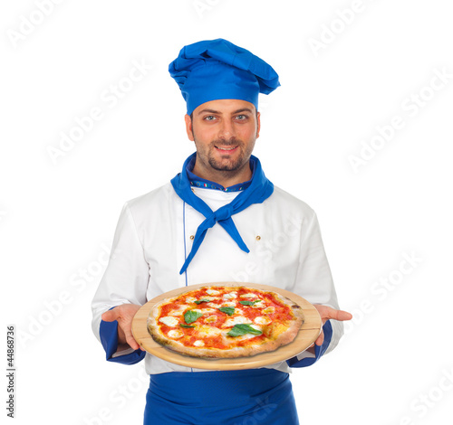 Pizzaiolo and pizza doc