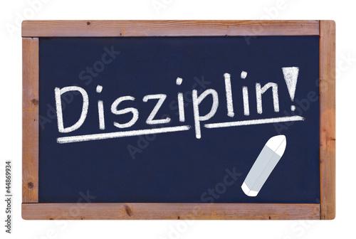 Disziplin  #120912-004