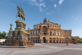 Fototapety Semperoper in Dresden