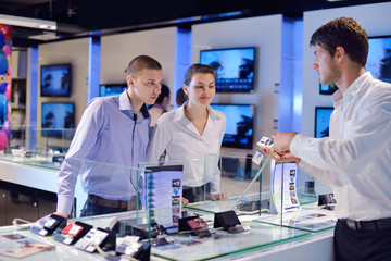 people buy  in consumer electronics store