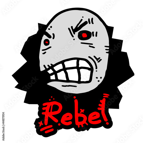 Rebel face animal
