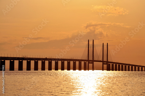 Sunset @ Oresund Bridge