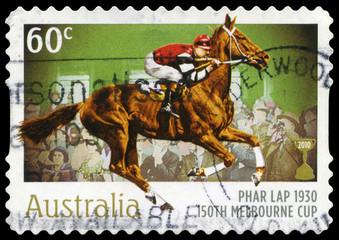AUSTRALIA - CIRCA 2010 Phar Lap