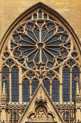 Rosace sud de la cathédrale de Metz