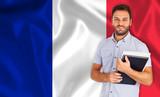 Fototapety French language