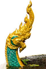 Golden naga.