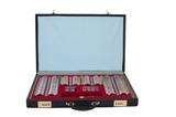 ophthalmologist box with lenses. Optician equipment. Isolated on