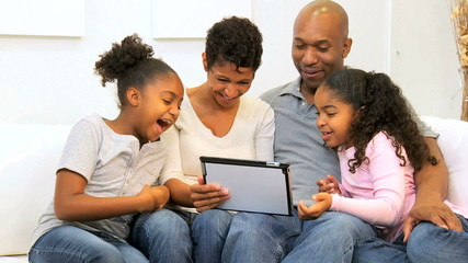 Young Family Home Wireless Technology