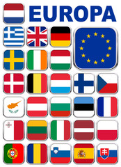 Europa app icons