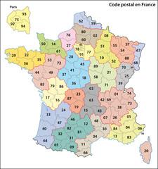 Code Postal, France