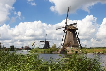 Kinderdijk Dutch windmills