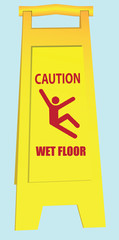 Wet Floor - Caution