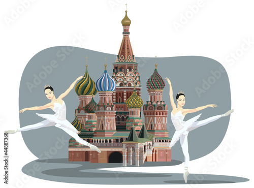 Kremlin and Ballerinas