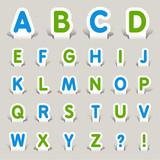 Paper Cut - Alphabet
