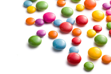 colored candy