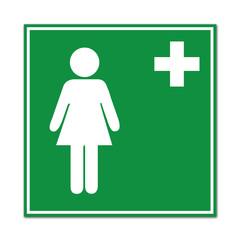Señal sanidad femenina