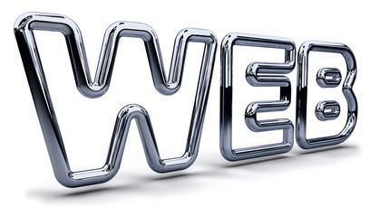3d Web logo