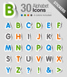 Stickers - Alphabet