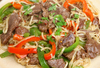 Thai Beef with Noodles Stir-Fry