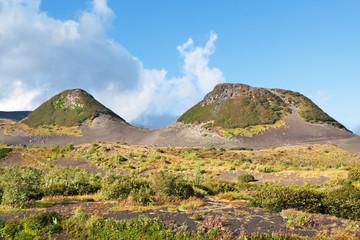 Rolling hills, Kamchatka, Russia