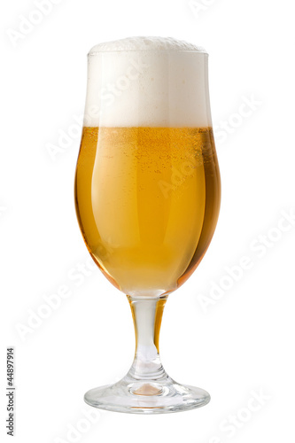 Belgian Ale (Beer) Isolated