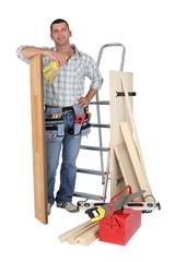 carpenter and his equipment