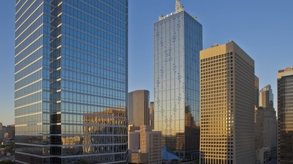 Sunset Time lapse of the skyline from Dallas