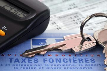 Calcul de la taxe foncière