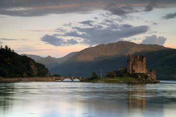 Le château de Eilean Donan en Ecosse