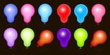 Royalty Free Balloons Vectors poster