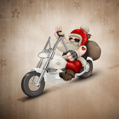 Motorized Santa Claus