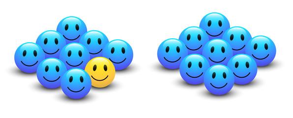 Vectors Smiley Concepts