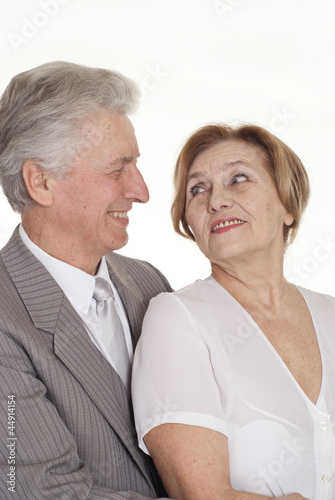 happy couple standing