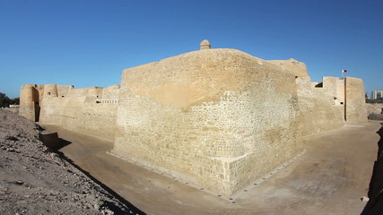 Qal'at al-Bahrain fort in city