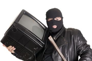 stealing tv