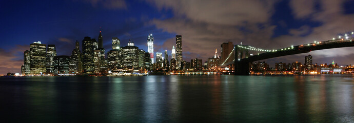 Manhattan in the blue hour
