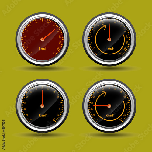 Speed Meter Vectors