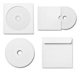 dvd disk digital computer business envelope  template
