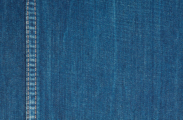 Background of rough denim fabric