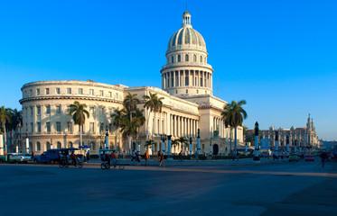 The Capitol building,  Havana