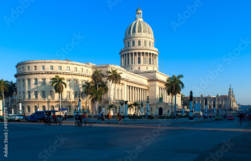 The Capitol building,  Havana