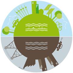 Vita verde contro l'inquinamento